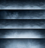 Smoke texture background Royalty Free Stock Images