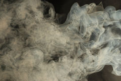 Smoke texture. Beautiful grey air, smoke texture Royalty Free Stock Photos