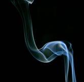 Smoke tube. Smoke art figure, tube style Royalty Free Stock Image