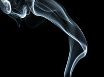 Smoke wave Royalty Free Stock Photos