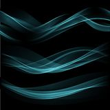 Smoke wave background. Vector illustration Royalty Free Stock Images