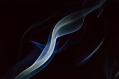 Smoke whirl Stock Images