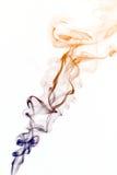 Smoke on a white background Stock Image