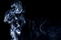 Smoke on white background Royalty Free Stock Photography