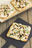 Smoked Ahi Pizza Royalty Free Stock Photography