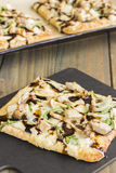 Smoked Ahi Pizza Royalty Free Stock Photos
