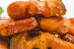 Free Smoked Backs Of Red Fish Royalty Free Stock Photography - 100526917