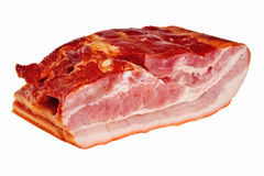 Smoked bacon. Royalty Free Stock Images