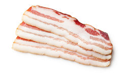Smoked bacon Stock Photography