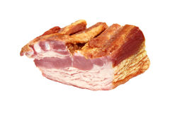 Smoked bacon Stock Photo
