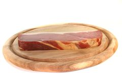 Smoked bacon Stock Photography