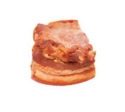 Smoked bacon chunk Stock Images