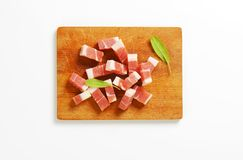Smoked bacon Royalty Free Stock Photos