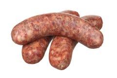 Three Smoked Sausage Stock Image