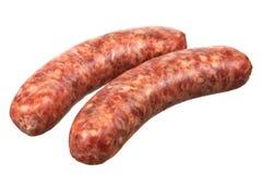 Two Smoked Sausage Stock Photos