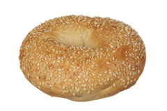 Sesame Seed Bagel Royalty Free Stock Photo
