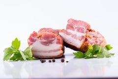 Smoked bacon Royalty Free Stock Photos