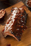 Smoked Barbecue Pork Spare Ribs Royalty Free Stock Images