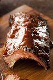 Smoked Barbecue Pork Spare Ribs Stock Photo