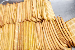 Smoked bean curd. For sale Stock Photos