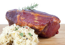 Smoked beef Stock Image