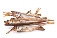 Smoked  candle fish Royalty Free Stock Images