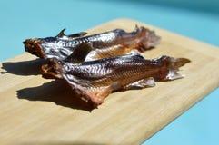 Smoked catfish. Royalty Free Stock Image