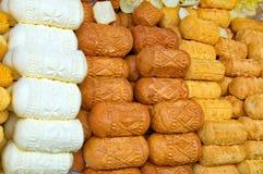 Smoked cheese Royalty Free Stock Photo