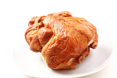 Smoked chicken royalty free stock images