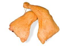Smoked chicken leg Stock Photo