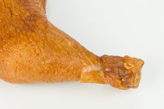 Smoked chicken leg. Stock Photography