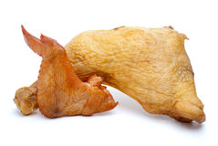 Smoked chicken leg and wing Stock Images