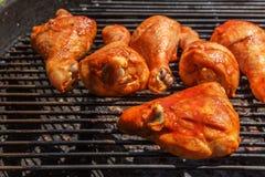 Smoked chicken legs Royalty Free Stock Photos