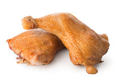 Smoked chicken legs Stock Images