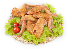 Smoked chicken wings Royalty Free Stock Photo