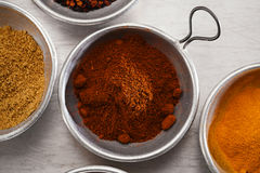 Smoked chili powder Stock Image