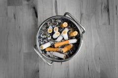 Smoked cigarette Royalty Free Stock Photo