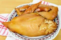Smoked ckicken filet Stock Image