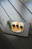 Smoked cod Stock Images