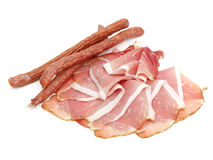 Smoked coldcuts Stock Image