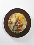 Smoked duck breast and mango salad Royalty Free Stock Photography