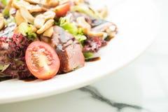 Smoked duck salad Royalty Free Stock Image
