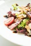 Smoked duck salad Royalty Free Stock Photo