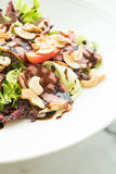 Smoked duck salad Royalty Free Stock Images