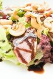 Smoked duck salad Stock Photo