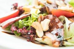 Smoked duck salad Royalty Free Stock Photos
