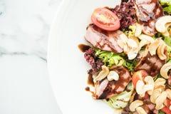 Smoked duck salad Stock Photos