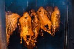 Smoked ducks Stock Photos
