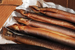 smoked eel Royalty Free Stock Image