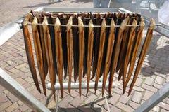 Smoked eel Stock Images